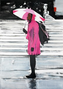 New York Girl 1, 2007, 145 x 105cm