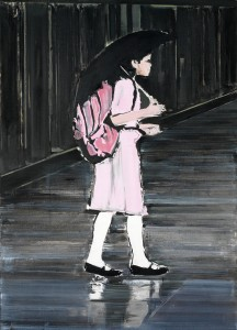 New York Girl 2, 2007, 145 x 105cm