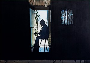 The Poet Playing, 2010, 190 x 270cm